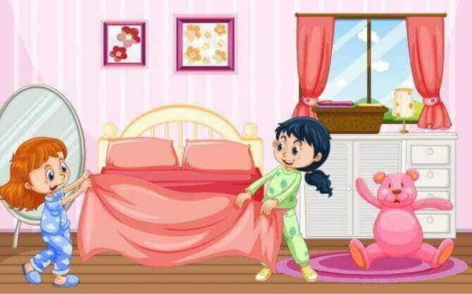 Kids Story: My room is clean