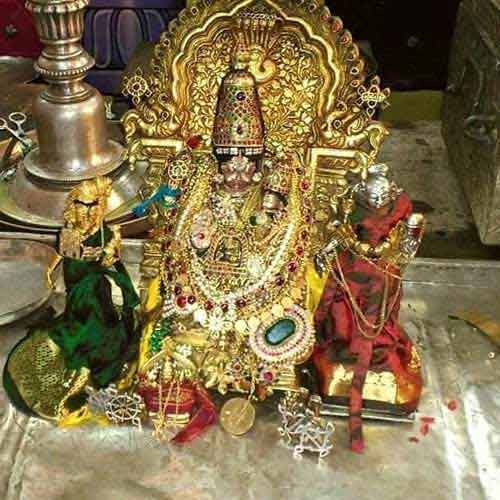 Malola Narasimha Swamy – The Murti Of Narasimha That Ahobila Math Jeeyars Carry During Their Sancharas or Tours