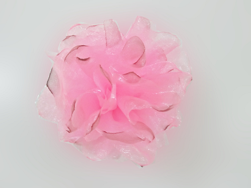 DIY Membuat Bros Bunga Dari Pita Organdi Paling Mudah