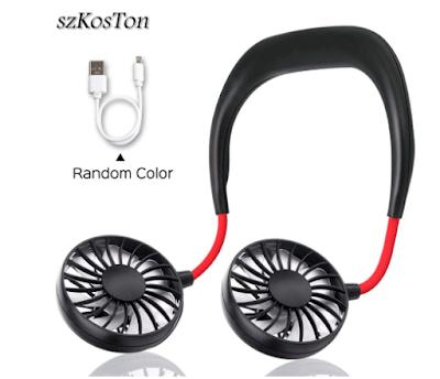 SZKOSTON USB Rechargeable Fan