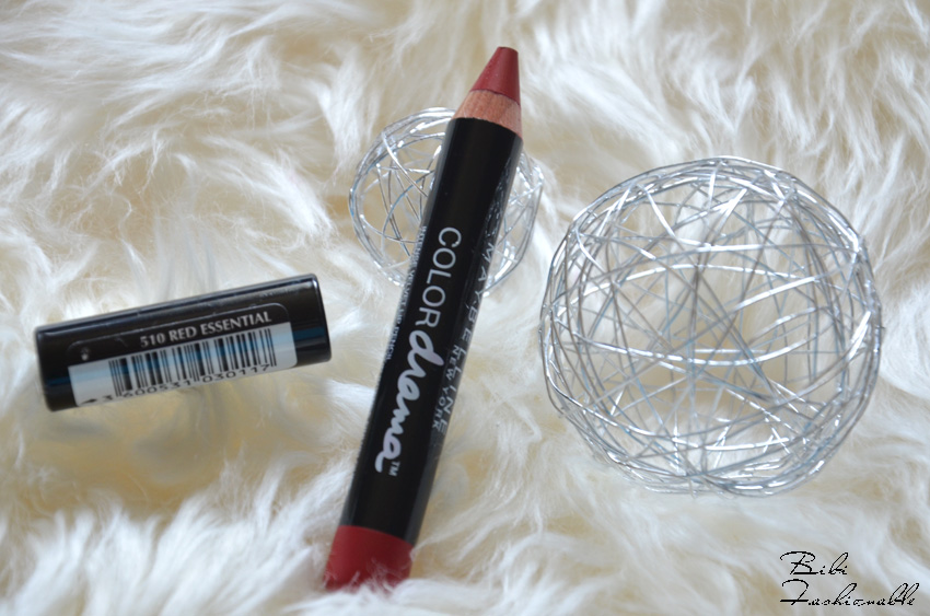 Color Drama Intense Velvet Lip Pencil Red Essential