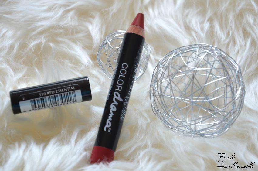 Color Drama Intense Velvet Lip Pencil Red Essential