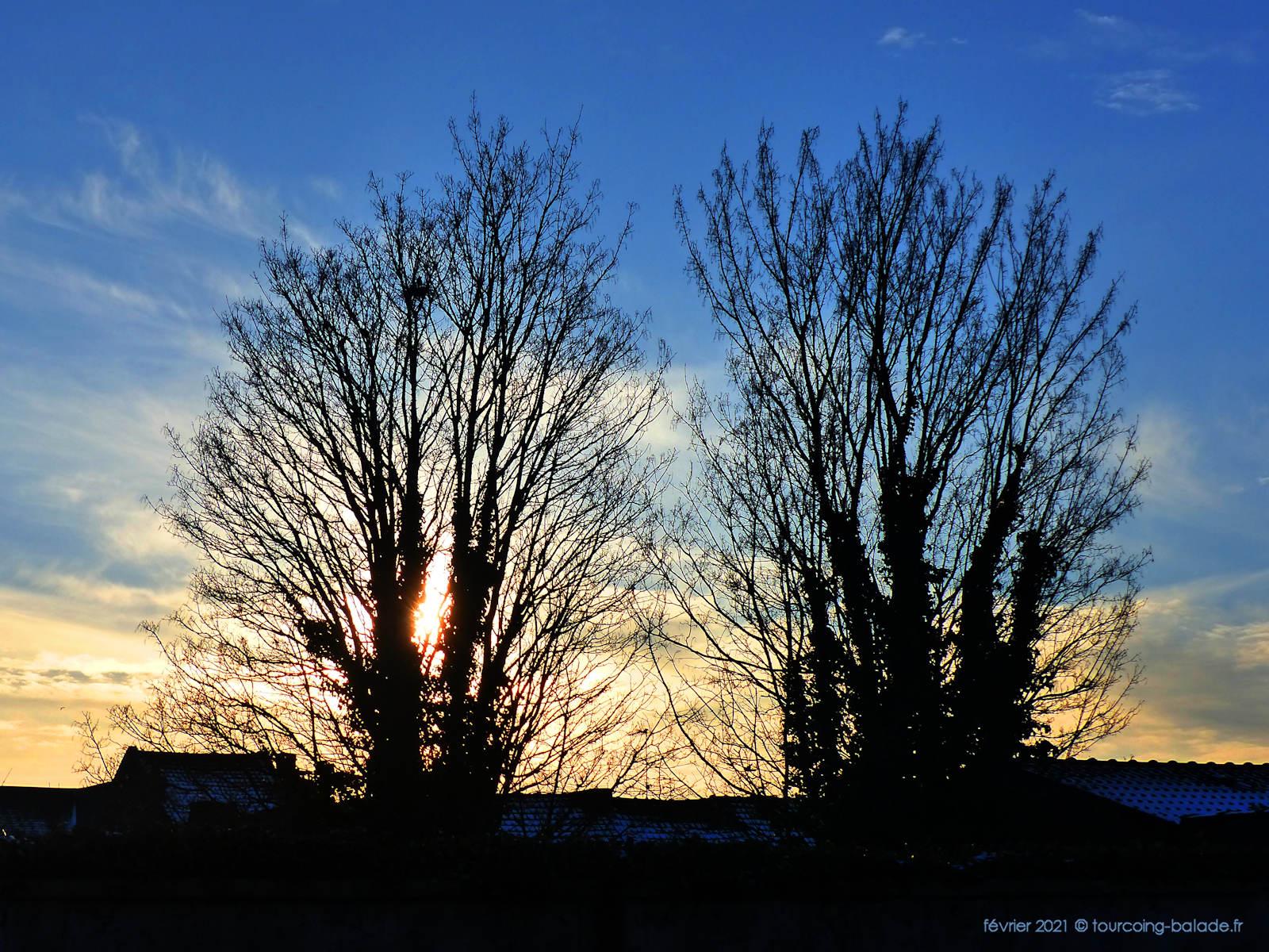 Tourcoing - Ciel d'hiver 2021