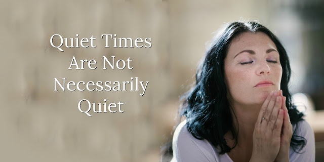 """The Psalms offers a balanced and varied look at time with the Lord. This 1-minute devotion explains why it's not necessarily good to call it a """"Quiet"""" time. #BibleLovenotes #Bible"""