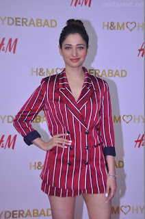 Tamannah Bhatia Exclusive in Red Blazer and Red Shorts Spicy Pics ~  Exclusive 047.JPG