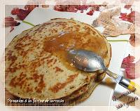 Pancake sans gluten et sans lactose, à la farine de sarrasin