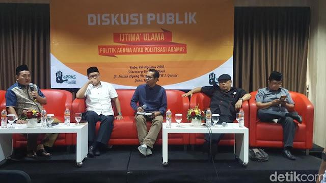 """Ijtima Ulama GNPF Disebut Disusupi Kubu Petahana sebagai Agenda """"Memutihkan Jakarta"""""""