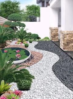 Taman minimalis arsitek taman