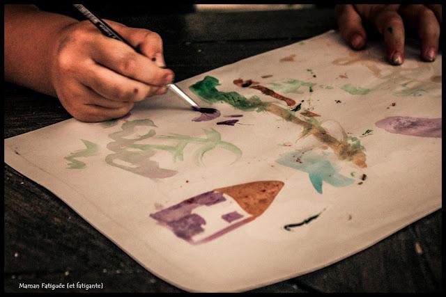 peinture acquarelli giotto