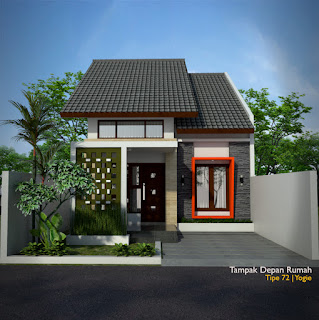 Desain Rumah Minimalis 7x12 3 Kamar Tidur 1 Lantai Desain Rumah Minimalis
