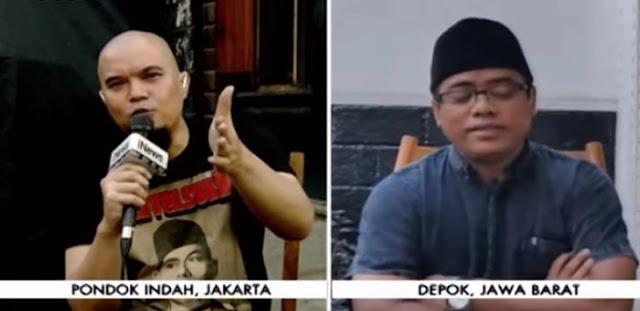 Debat Panas Ahmad Dhani Vs Muannas Aladaid, Kabur Saat Live di TV