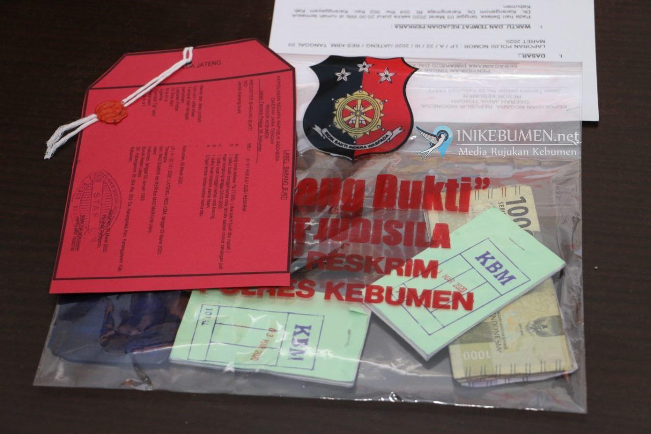 Jual Togel, Dua Warga Karanggayam Ditangkap Polisi