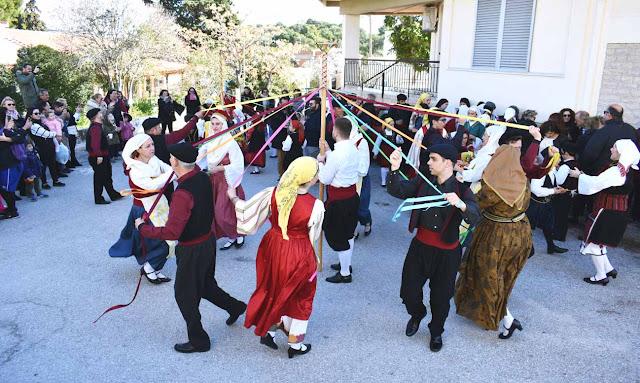 Την Κυριακή ξεδιπλώνει τις χρωματιστές του κορδέλες το Γαϊτανάκι της Χορευτικής Ομάδας Ερμιόνης