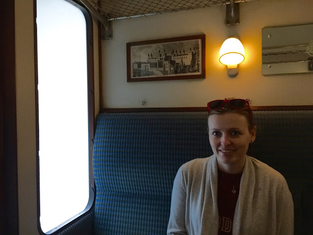 On board the Hogwarts Express at The Wizarding World of Harry Potter by freshfromthe.com