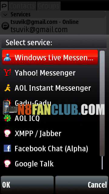 Palringo 2 10 (MSN, GTalk, Yahoo, Facebook Chat and more) - S^3