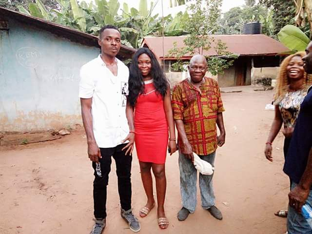 Nigerian man pays bride price of lady he met three weeks ago; says men should go for marriage not sex