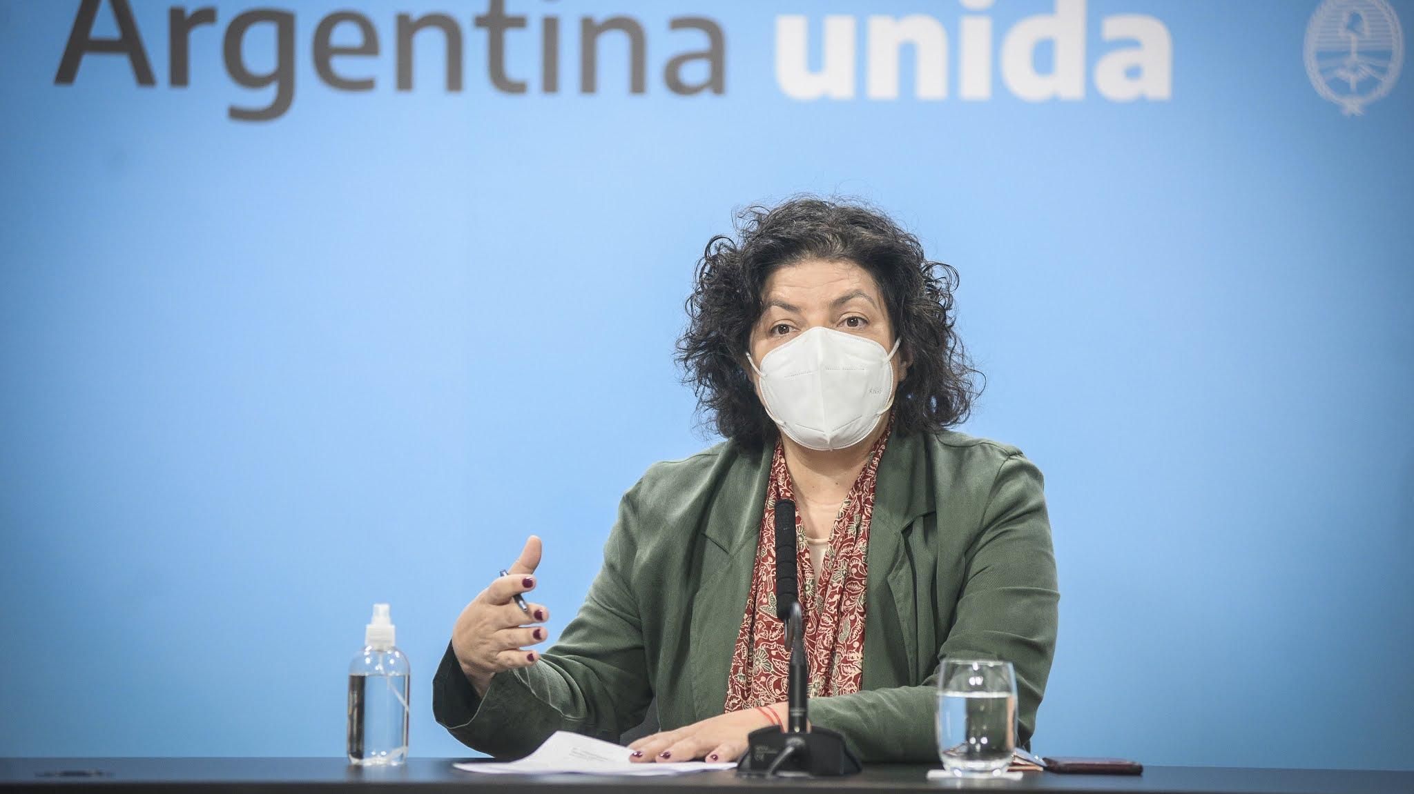 """Carla Vizzotti: """"Este es el momento de más riesgo desde el comienzo de la pandemia"""""""