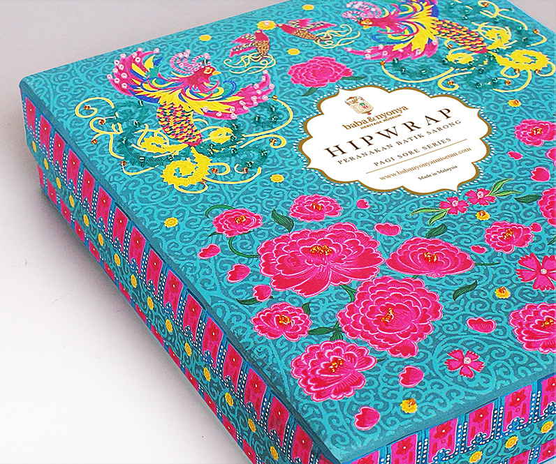 Peranakan Hipwrap Sarong (Student Project) On Packaging Of