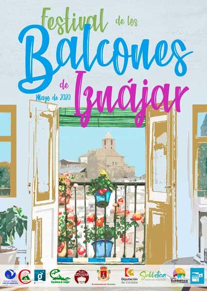Cartel del IX Festival de los Balcones de Iznájar