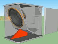 Gambar ukuran box speaker 12inch sub scoop rumahan