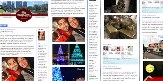 Check out my Christmas blog