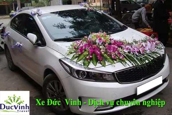 Thuê xe cưới màu trắng Kia Cerato giá rẻ tại Hà Nội