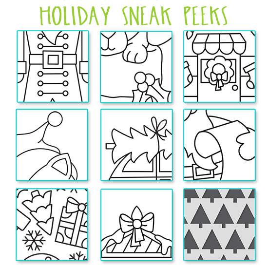 Sneak Peek of 2020 Holiday Products from Newton's Nook Designs #newtonsnook