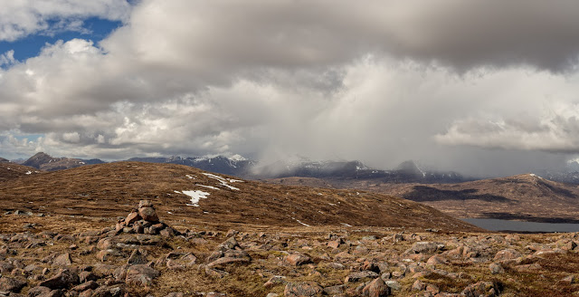Photo of View from the summit of Meall Bhalach across Blackwater Reservoir and the Mamores