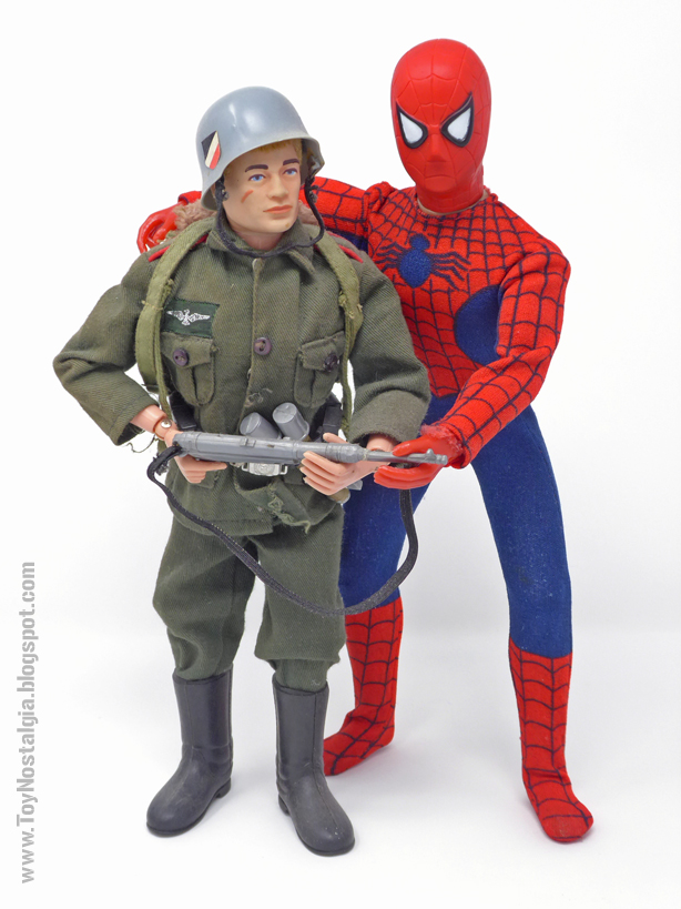 Mego Spider-Man 12 inches - 30 cm G.I.JOE   (MEGO - World's Greatest Super Heroes!)