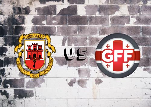 Gibraltar vs Georgia  Resumen