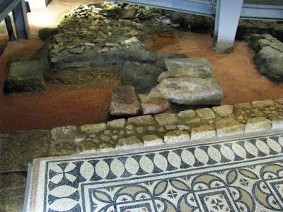 vestígios romanos na Casa do Infante