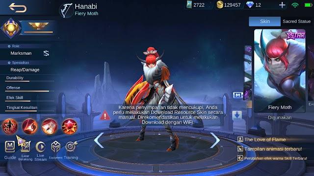 Build Full Damage Hanabi di Mobile Legend Season 19