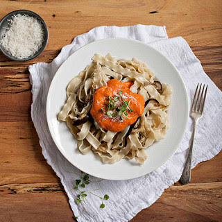 RED PEPPER FETTUCINE
