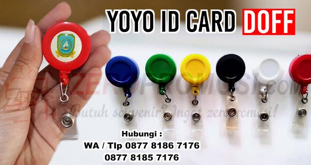 jual Badge Reels, Yoyo ID Card Statis Aneka Warna, Yoyo ID Card Statis Warna Doff, Yoyo ID Card Biasa, id card holder yoyo doff, id card hanger gantung warna doff dengan harga bersaing