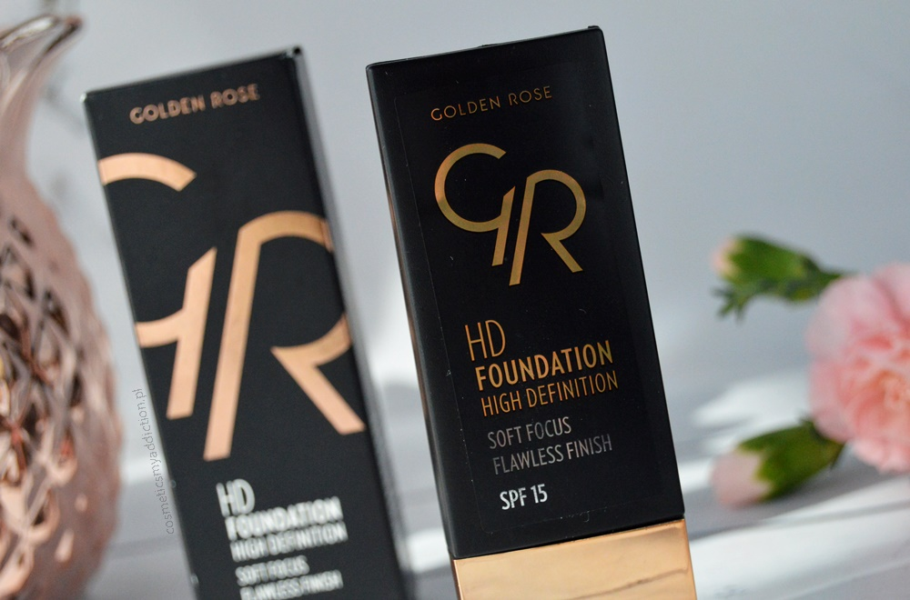 Golden Rose, HD Foundation High Definition oraz HD Concealer