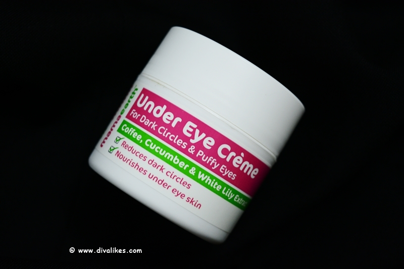 Mamaearth Under Eye Creme Review Diva Likes
