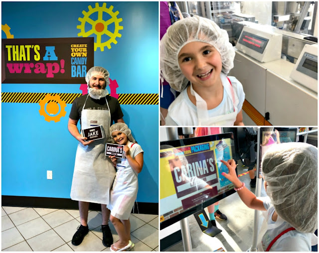 If you do only one thing during your visit to Hershey's Chocolate World, then definitely splurge a little & be sure to sign up for a time slot to make your own custom chocolate bar.