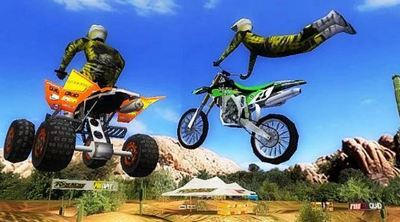 game motor cross