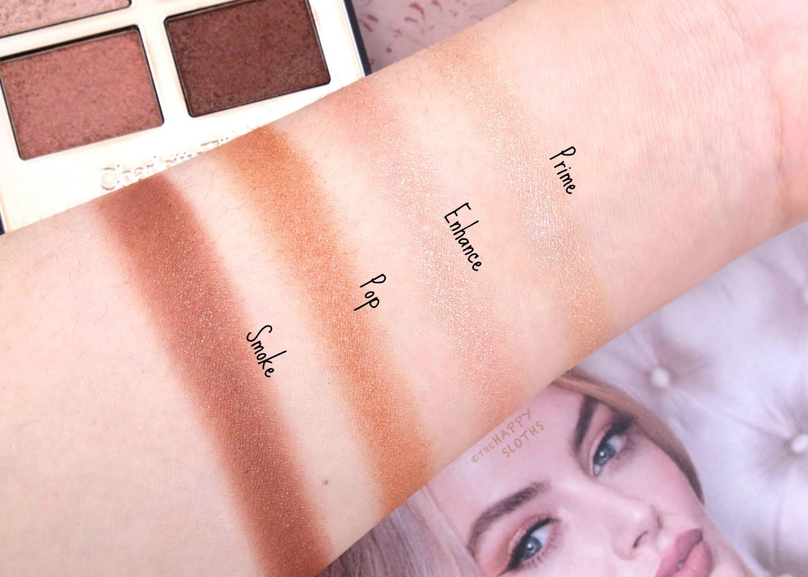 Charlotte Tilbury | Pillow Talk Luxury Palette of Pops: Review and Swatches