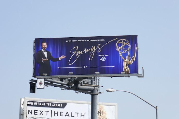 2020 Emmys billboard