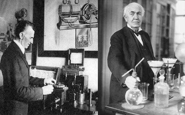 Texto de Nikola Tesla a Thomas Edison