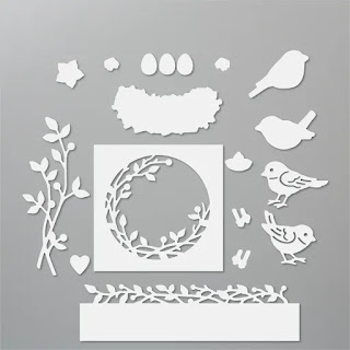 Stampin'Up!'s Birds and More die set