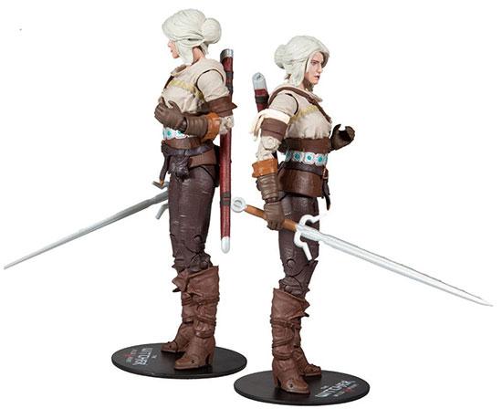 Ciri The Witcher Wild Hunt Mcfarlane Toys