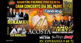 Gran concierto día del padre 2019 con Alci Acosta