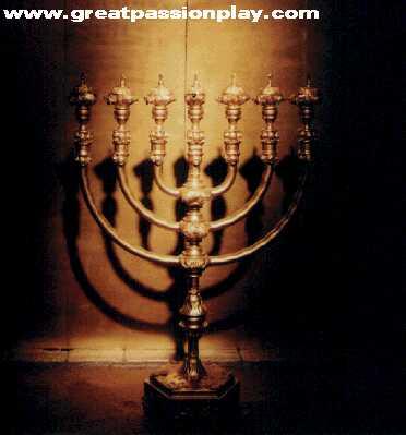 Candelabro menorah tabernaculo