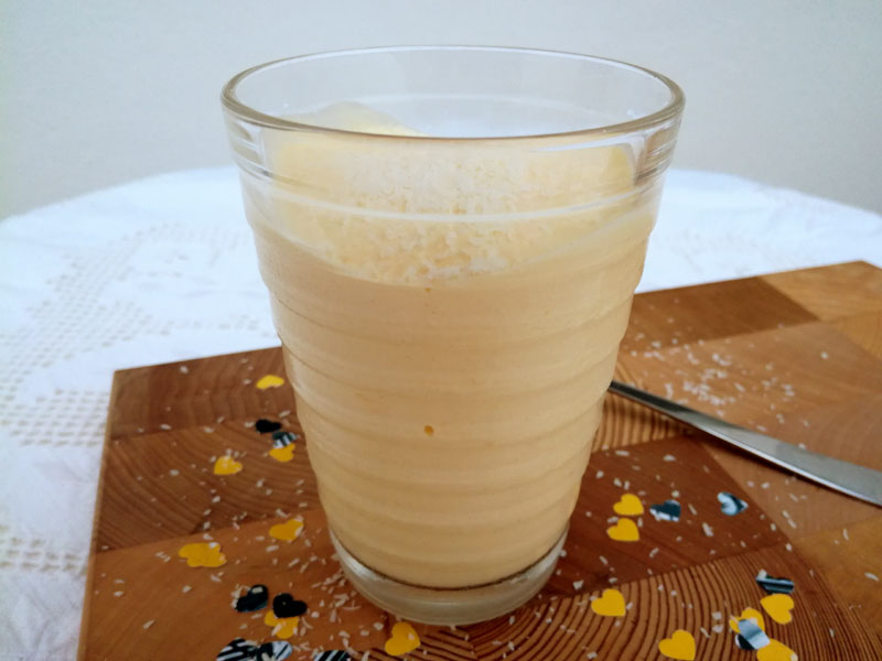 Foto: bevanda rinfrescante con mango