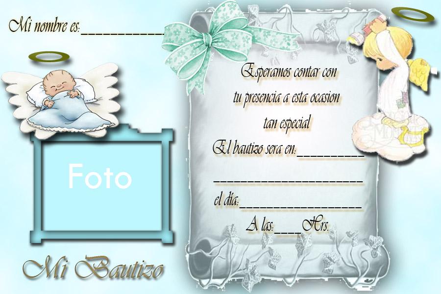 Tarjetas Personalizadas Para Bautizo Gratis Imagui