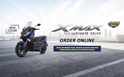 Order Online Yamaha XMax 250