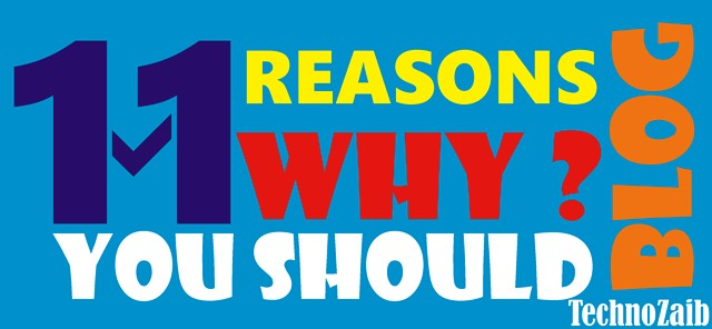 11 reasons why you should blog
