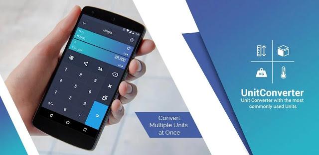 تنزيل تطبيق Unit Converter تطبيق تحويل الوحدات بسيط ومتعدد الاستخدامات لنظام الاندرويد